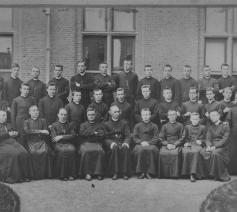 Groepsfoto Leo XIII