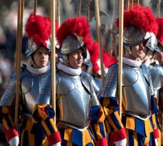 Zwitserse garde © Vatican Media