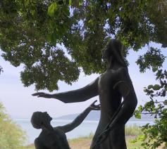 Petrus en Jezus aan het Meer van Galilea © Alexander Vandaele