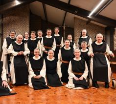 Trappistinnen van priorij Klaarland  © Priorij Klaarland