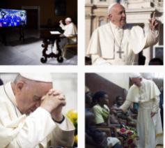 Paus Franciscus op Instagram © @pontifex