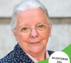 In gesprek met Jeanne Devos , 26 oktober 20 uur in De Meent
