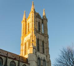 Toren van Sint-Baafskathedraal © Bisdom Gent, foto: Karel Van de Voorde