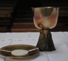 Het Verbond vieren met brood en wijn © flickr