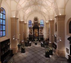 Deze kerk in Vilnius werd herbestemd als museum.
