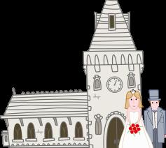 Trouwen voor de Kerk © Pixabay.com