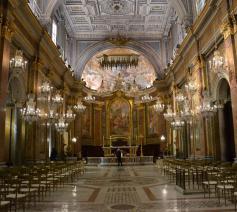 De basiliek Santi Giovanni e Paolo in Rome, titelkerk van kardinaal de Kesel © Jeroen Moens/Aartbisdom Mechelen-Brussel