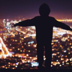 'Ik ben het Licht van de wereld.' © CC Jasmin Labra