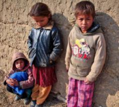 Een kwart van de kinderen in de EU gaat gebukt onder armoede en uitsluiting © Vatican Media