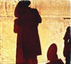 Gebed bij de Klaagmuur in Jeruzalem © Philippe Keulemans