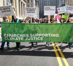 Samen op straat voor het klimaat © ACT Alliance