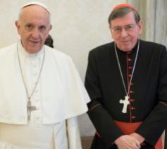 Paus Franciscus en kardinaal Kurt Koch © Vatican Media