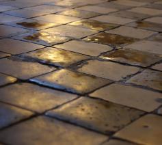 'Het was dezelfde vloer, met dezelfde tegels.' © Flickr/Kojach