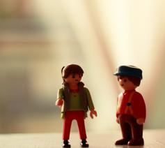 Meisjes en jongens, allebei beeld van God in het scheppingsverhaal. © CC Catherine