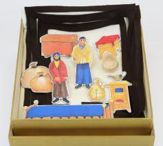 Het Godly Play verhaal van de kostbare parel © Lindenwerkstätten, Leipzig