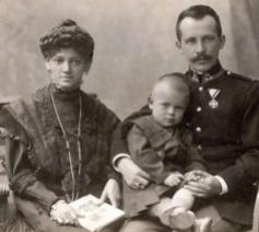 De ouders van paus Joannes Paulus II © Aartsbisdom Krakau