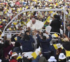 Paus Franciscus veroordeelde de corruptie en de armoede © Vatican Media