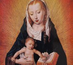 Maria met kind, Brugse Zuid-Nederlandse School omstreeks 1480-1500 © Koninklijke Musea voor Schone Kunsten van België