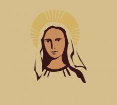 Heilige Maria, Moeder van God, Gij hebt de wereld het ware Licht geschonken.
