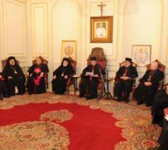 Overleg van oosterse kerkleiders  © Maronitische patriarchaat van Bkerke