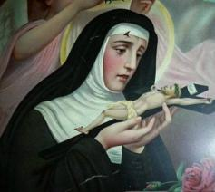 De Heilige Rita van Cascia. © YouTube
