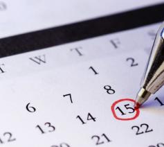nieuws en kalender