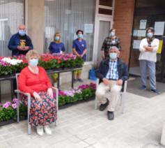 Solidair met de ouderen, te midden van de coronapandemie © Okra