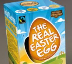 Real Easter Egg is voortaan 100% milieuvriendelijk © The Real Easter Egg