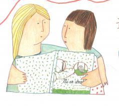 uit 'Nu en straks' - beeldboek over palliatieve zorg © Sofie Sergeant en Saar De Buysere