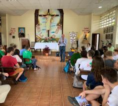 De Vlaamse priester Patrick Hanssens vertelt over zijn werk in Panama. © Kerknet