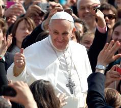 Paus Franciscus. © Halewijn