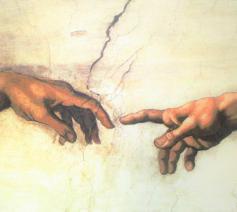 'Gij hebt mij tot nieuwe leven geroepen' © De Schepping (Michelangelo) - Sixtijnse kapel