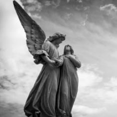 'Niet voor niets riepen die engelen dan steevast: Wees niet bang!' © Pexels