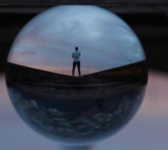 'Geloof heeft veel te maken met een ander perspectief.' © Pexels