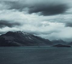 'Het is maar een storm. Niet meer dan wat wind.' © Pexels