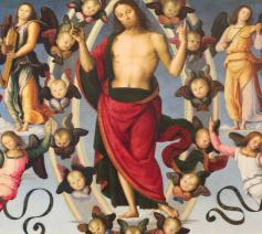 Pietro Perugino, De Hemelvaart van Christus, 1498 © Musée des Beaux Arts, Lyon / Wikimedia Commons