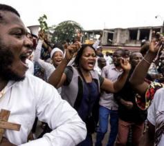 protest DR Congo © fides