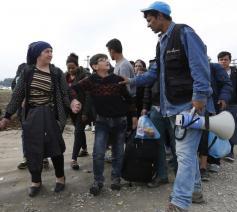 Caritas verstrekt hulp voor vluchtelingen © Caritas Europa