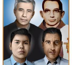 De 4 martelaars van El Salvador © Aartsbisdom San Salvador