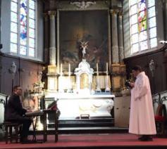 Sint-Corneliusparochie tegen Corona - live © Alexander Vandaele