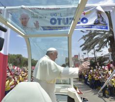 Paus Franciscus in Peru © Sir/Vaticanmedia
