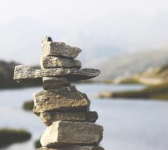 'Er zal een tijd komen dat van alles wat u daar ziet geen steen op de andere zal blijven...' © CC Pexels