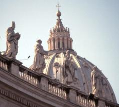 Koepel van de Sint-Pietersbasiliek in Rome © Vatican Media