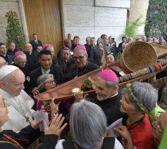 Start van de amazonesynode in Rome © Vaticaan Media