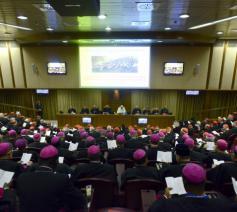 Opening bisschoppensynode over het gezin op 5 oktober 2015 © SIR