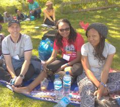 Jongeren tijdens de Taize-ontmoeting in Kaapstad © Gemeenschap van Taizé