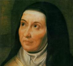 Teresa van Avila (1515-1582) © Carmelitana, Karmel Mechelen