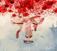 THÉRÈSE SPREEKT ~ bekijk de animatiefilm over Thérèse van Lisieux © Illustratie Randall Casaer, Texture Freepik