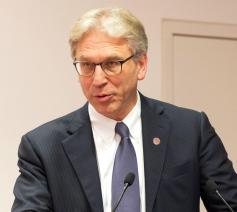 Olav Fykse Tveit, aftredend secretaris Wereldraad van Kerken © Peter Dietrich/WCC