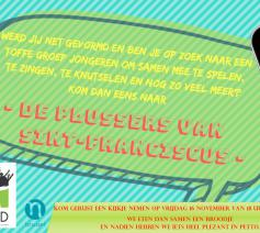 uitnodiging plussersbijeenkomst © Joke De Waele